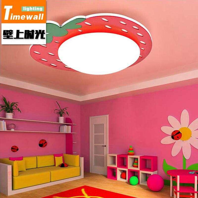 CM054 LED cartoon children s room lamp strawberry bedroom light  kindergarten simple children bedroom ceiling
