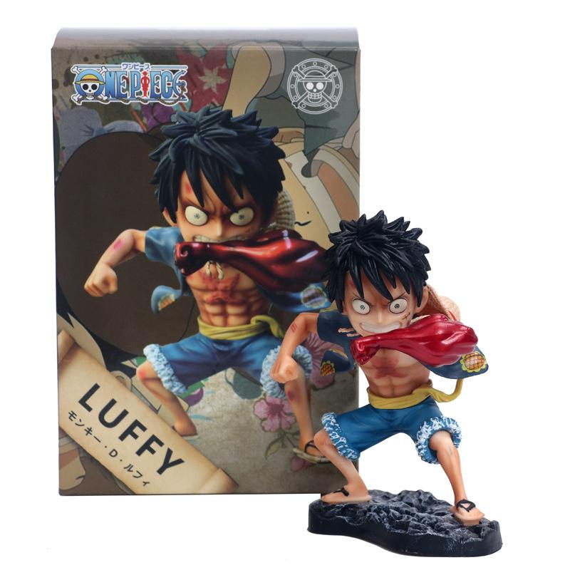 12cm Japan Anime Figure Luffy GK Transformation Action Figure One Piece  Figures Collectible Model Toys Christmas Gift