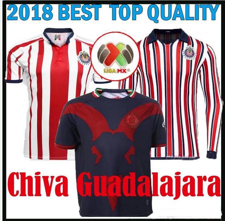 09baafe6b 2019 Size S XXL 2018 LIGA MX Club America Soccer Jersey 18 19 Mexico O.PERALTA  Home Away Football Jerseys Chivas Guadalajara Shirt From Bestsoccerclub, ...
