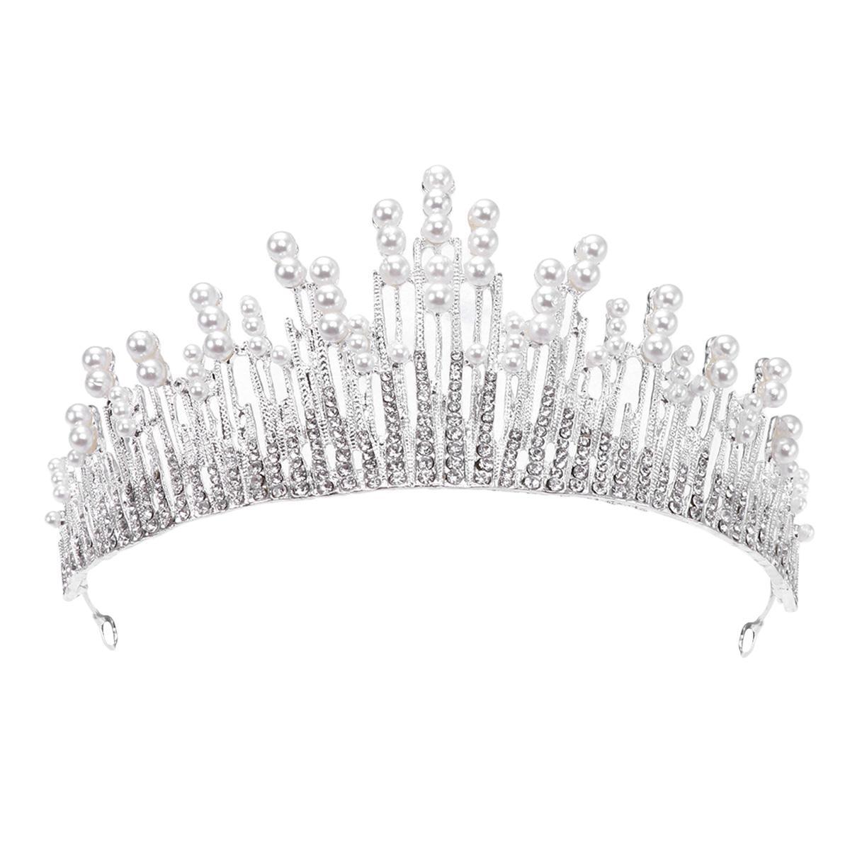 1975bd34c3d5 Compre 1 Unid Tiara Coronas De Cristal Vintage Rhinestone Barroco  Accesorios Para El Cabello Coronas Joyería Aro Del Pelo Para La Boda De  Compromiso ...