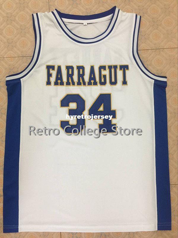 buy online a7d17 1e50e # 34 Kevin Garnett Jersey, Farragut Career Academy Admirals  Basketball-Trikot, XXS-6XL Garnett Top Basketball-Trikots XS-6XL Weste  Trikots
