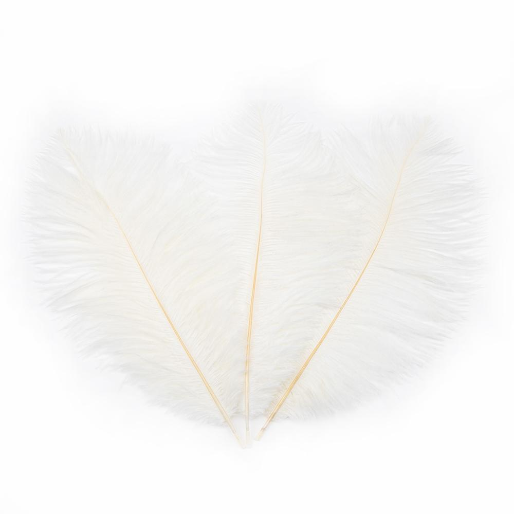 Ostrich Feather White Party Decoration US In Stock