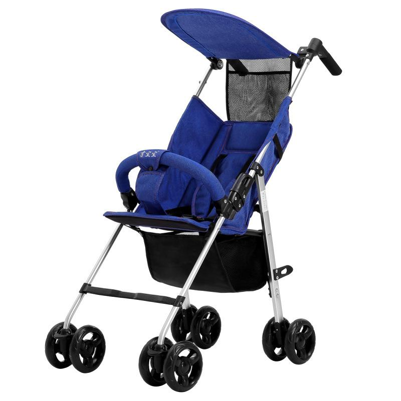 Baby Stroller Light Weight Buggy Fodable Travel Baby Car Carriage Hipseat Aluminium Alloy Poussette Pram Wheelchair