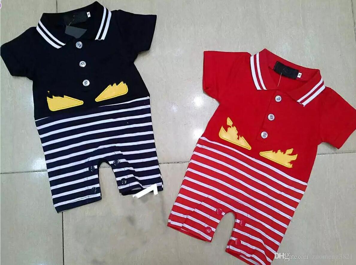94f7336a0 2019 Baby Boys Rompers Short Sleeve Infant Jumpsuits Summer Baby Girls  Clothing Sets Cotton Baby Boys Clothes For 0 18 Month From Zuomeng3821, ...
