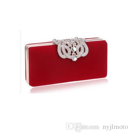 58da486905 Clutch Evening Bags Crown Rhinestones Evening Bags Purse Shoulder Bag For  Wedding Diamonds Lady Purse Mini Evening Bags Purses Wholesale Baggit  Handbags ...