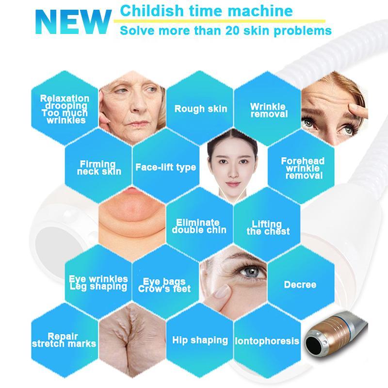 V max صك hifu الوجه والجسم آلة رفع ce المعتمدة لتشديد الجلد vmax الأكسجين رذاذ bio المطرقة الباردة
