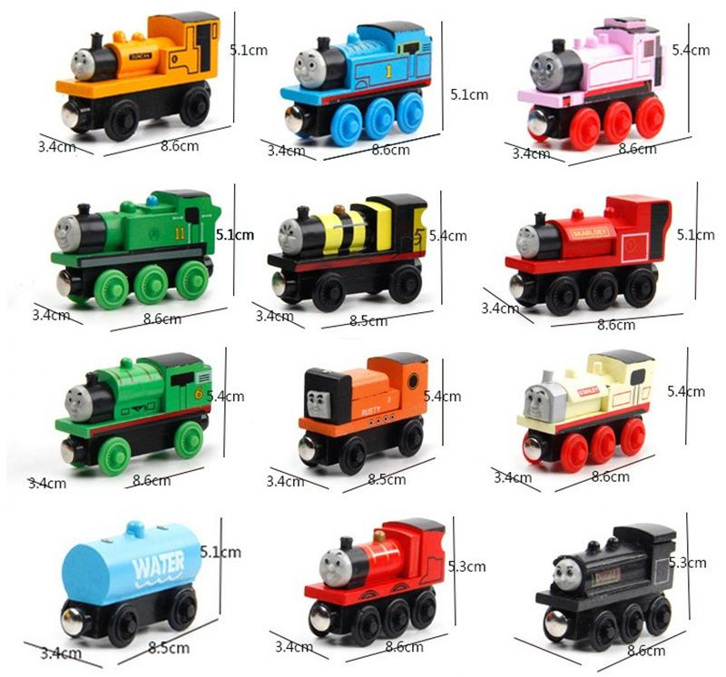 Original Styles Trains Friends Wooden Small Trains Cartoon Toys Wooden Trains & Car Toys Give your child best gift