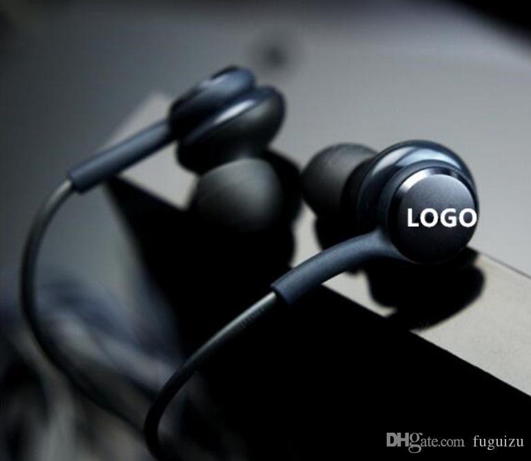 Kulak S8 Kulaklık Bas Kulaklık Stereo Ses Kulaklık OEM Kulaklık ile Ses Kontrol İçin Samsung Galaxy S8 Artı S7 S6 Kenar Yok Paketi