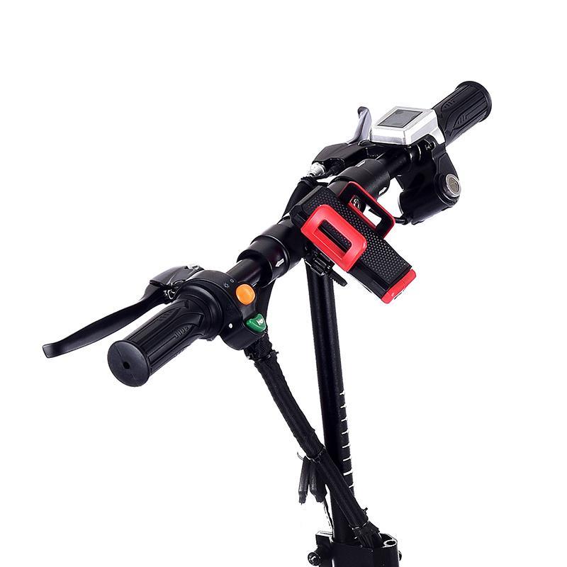 Gyl002 doble unidad 10 pulgada 48V 1200W scooter eléctrico velocidad de arriba 45km rango de kilometraje rápido plegable tres Modo de equitación