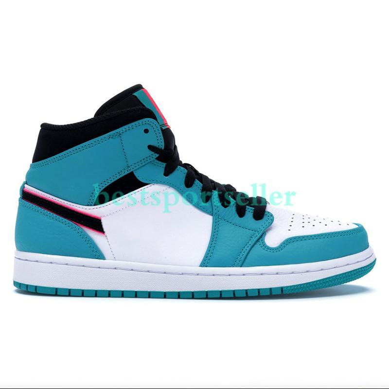 Высокий 1 1s OG Jumpman Баскетбольной обувь белого Чикаго UNC синего порошка полуночи ВМС бесстрашного Tie Dye парус университетской зум бегущие кроссовки