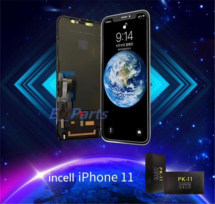 Incell LCD للحصول على 11 X XS XR XS ماكس العرض LCD تعمل باللمس استبدال محول الأرقام الجمعية قطع غيار إصلاح دي إتش إل الحرة