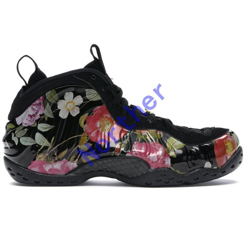 Yeni Penny Hardaway köpük basketbol ayakkabıları bir NRG Galaxy Çiçek Yanardöner yanlısı volt Parlak Kızıl Fil Baskı erkek spor eğitmen spor ayakkabı