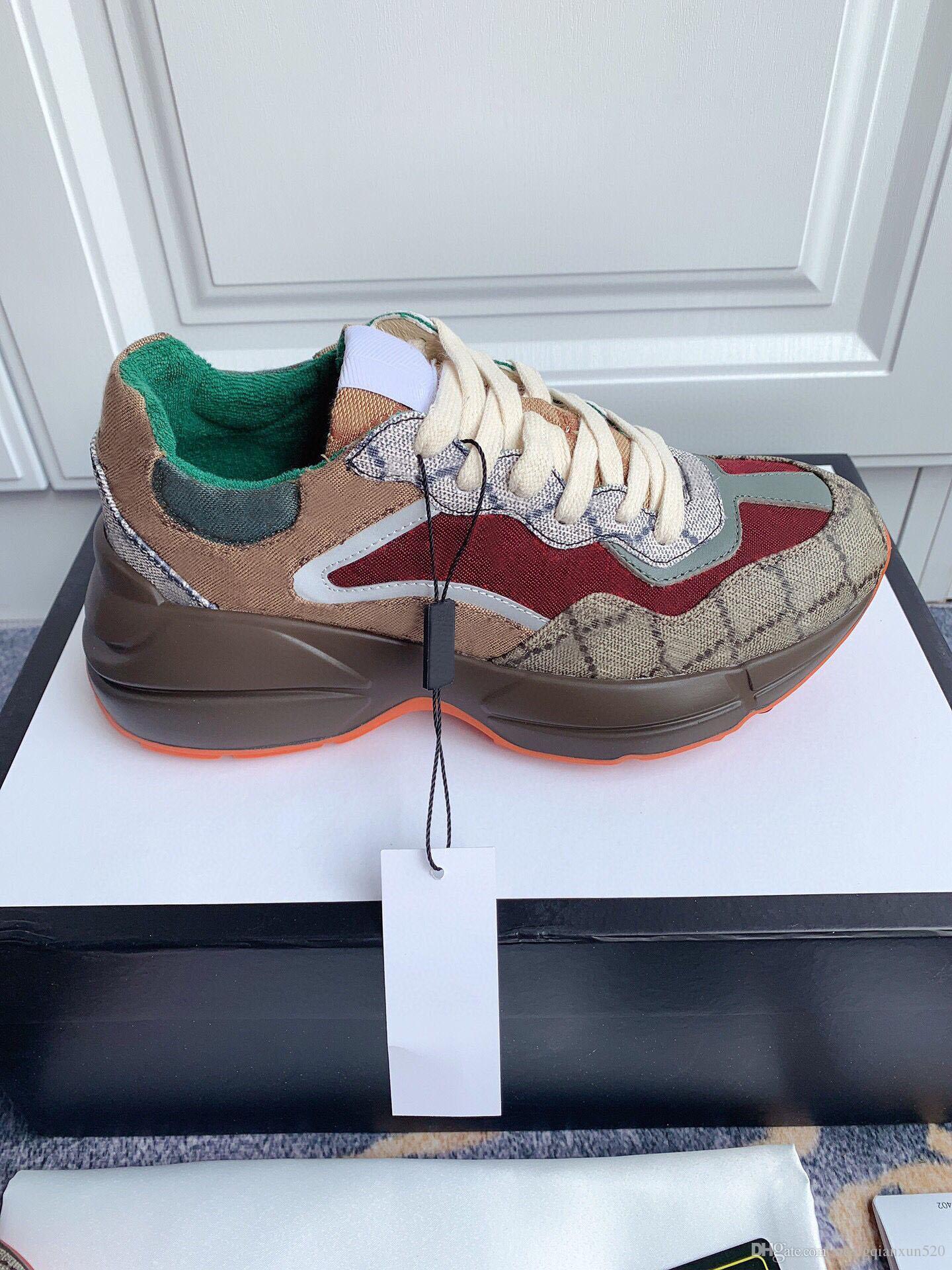 Lady Casual Zapatillas 100% Impreso Cuero Plano Plata Sneaker Letters Lace-Up Zapatos Plataforma de Moda Nuevos Hombres Zapatos de ocio Tamaño grande 35-42-45