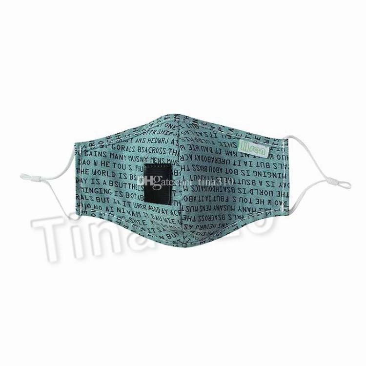 Camuflagem Máscara Facial lavável reutilizável Windproof Anti-fog Máscaras ajustáveis Beber Boca poeira Máscaras máscara Designer T2I51196