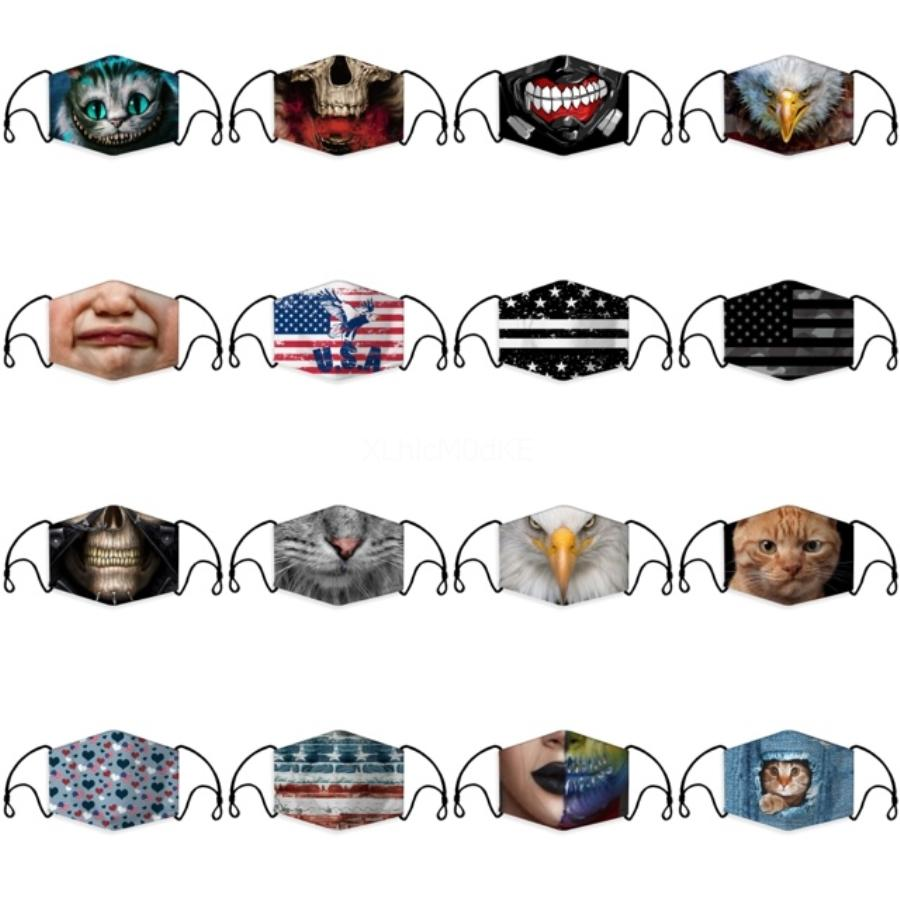 2021 New Designer Mask With Eye Shield Resuable Cotton