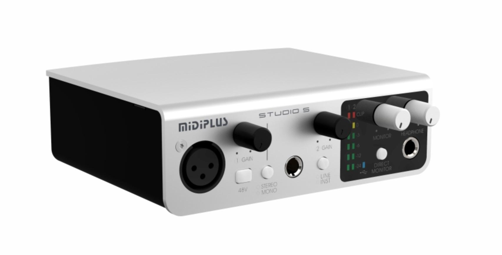 2020 Midiplus Studio S 2*2 USB Audio Interface High ...