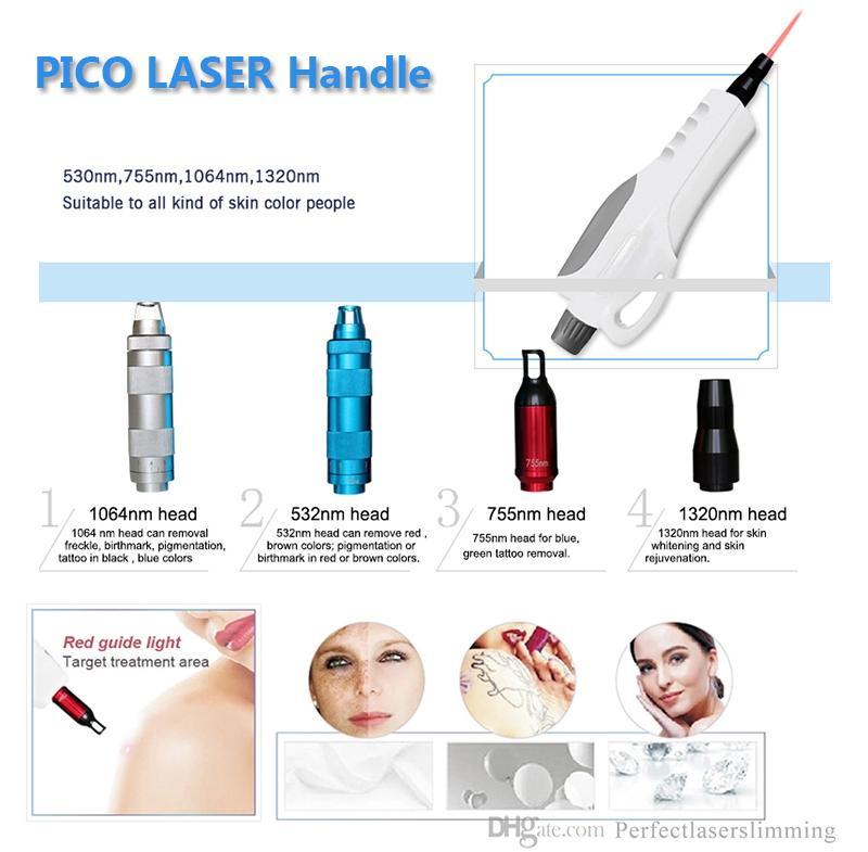Multifuction picosecond máquina de remoção de tatuagem a laser profissional OPT SHR equipamentos depilação a laser 2 anos de garantia