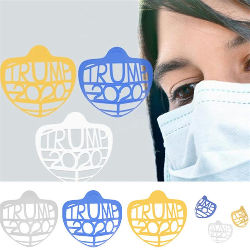3D Mask Bracket Trump Biden Lipstick Protection Stand Mask Inner Support For Breathe Freely Face Masks Holder Tool AccessoriesT1I2489