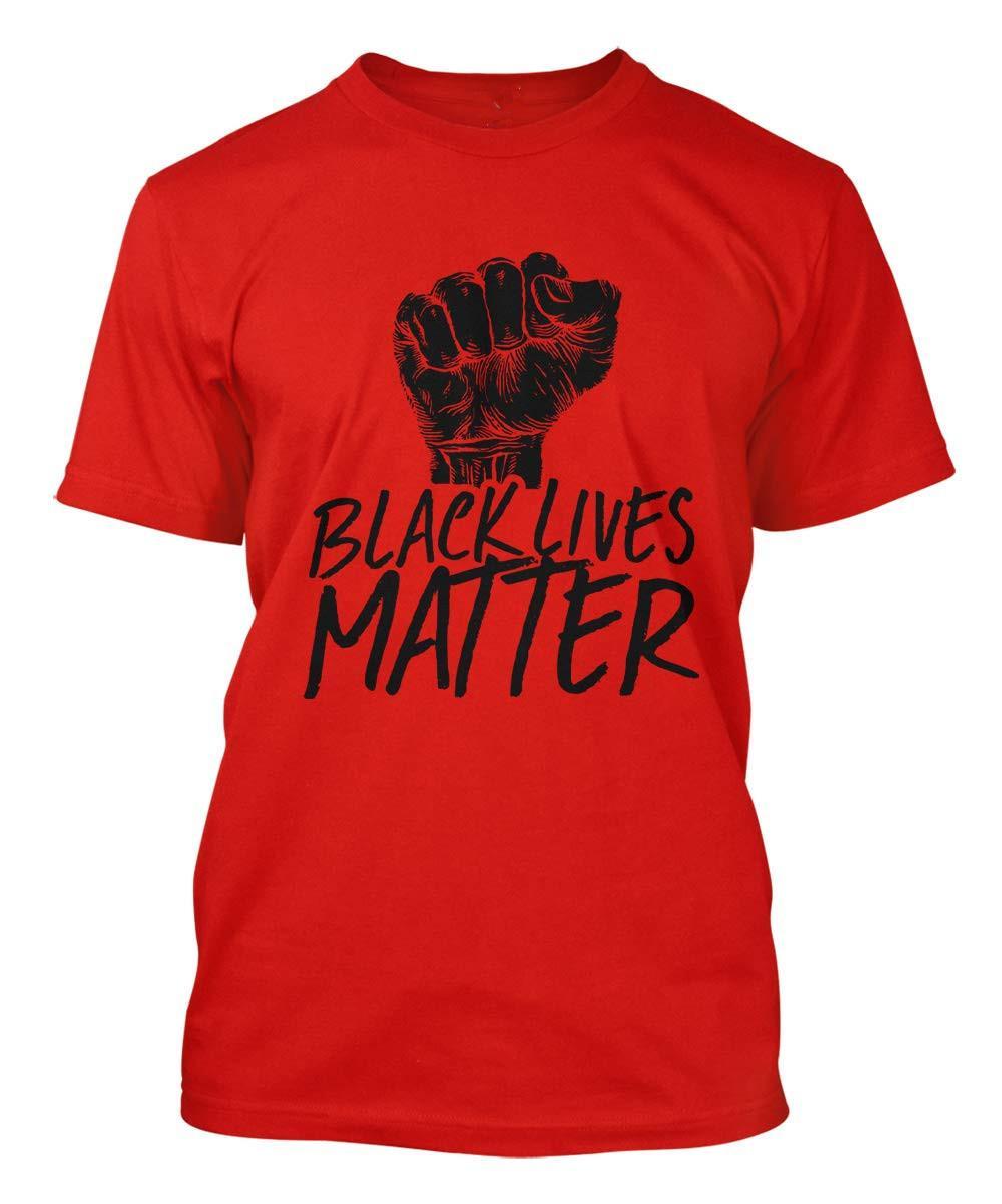 Schwarzer Leben Materie T-Shirt für Männer Frauen Casual Crew Neck Tops T-Sommer Schwarzer Leben Materie T-Shirt