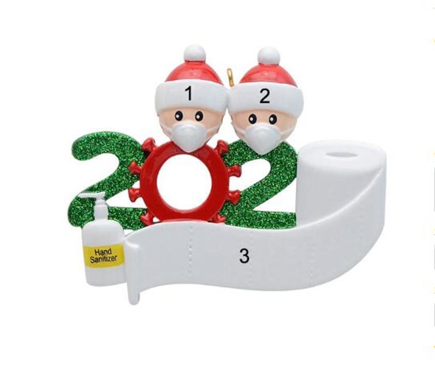 2 3 4 5 6 7 장식 유행성 사회적 거리를의 DHL 선박은 2020 검역소 크리스마스 파티 장식 선물 제품 개인 가족