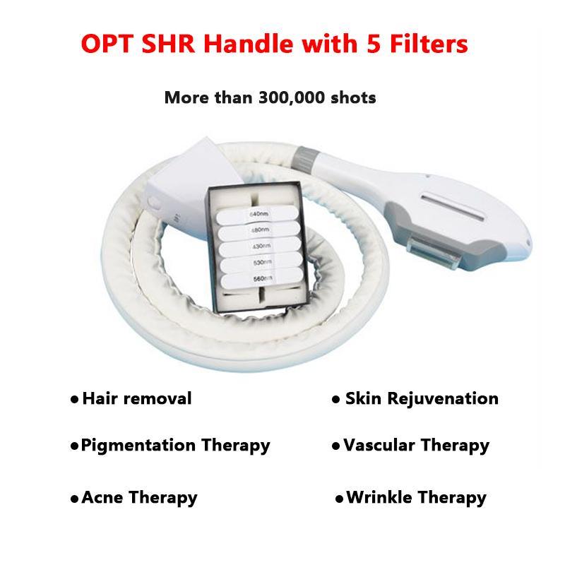 FDA del CE IPL multifunzionale bellezza macchina OPT SHR IPL Nd Yag Laser pigmento rimozione delle rughe rimozione macchina della cicatrice rimozione indolore
