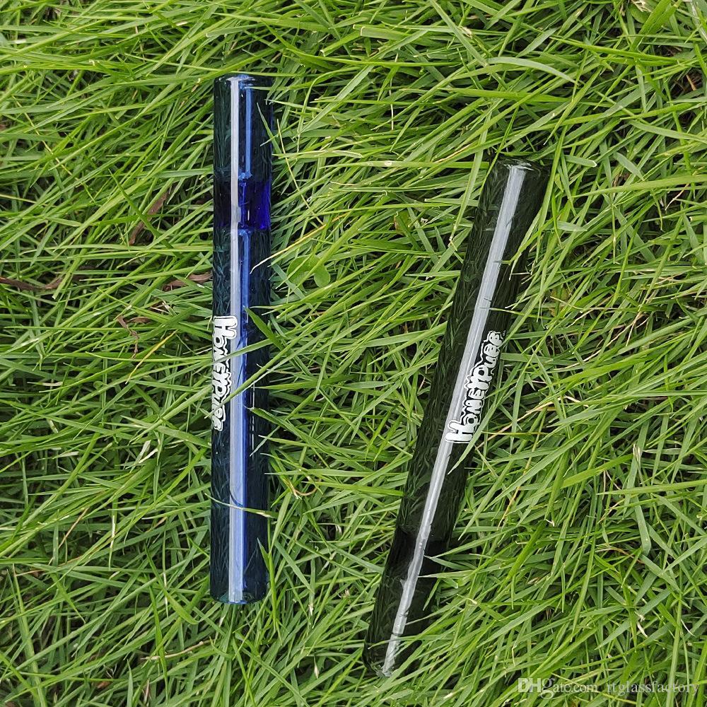 Hot Mini Dab Tuyaux de paille Nectar Conseils de collectionneur de nectar Fumer DABS Huile Plateaux Naviguies Broyon de verre Pipe Petite main
