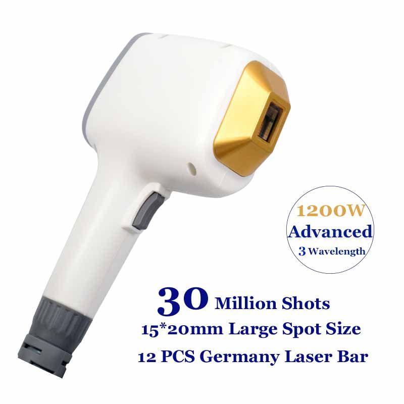 Professional diode laser machine 3 wavelength 808nm 755nm 1064nm Trio Lazer hairs removal alexandrite hair elimination Equipment