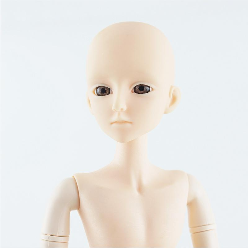 Naked Body Doll Moveable Joints Toys Head Princess Cake