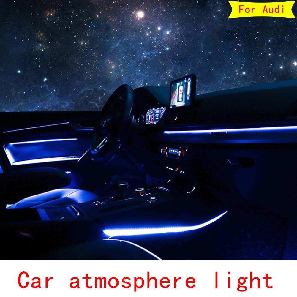 2021 For Audi A3 A4 A5 A6 A7 Q5 Q7 Interior LED Decorative ...