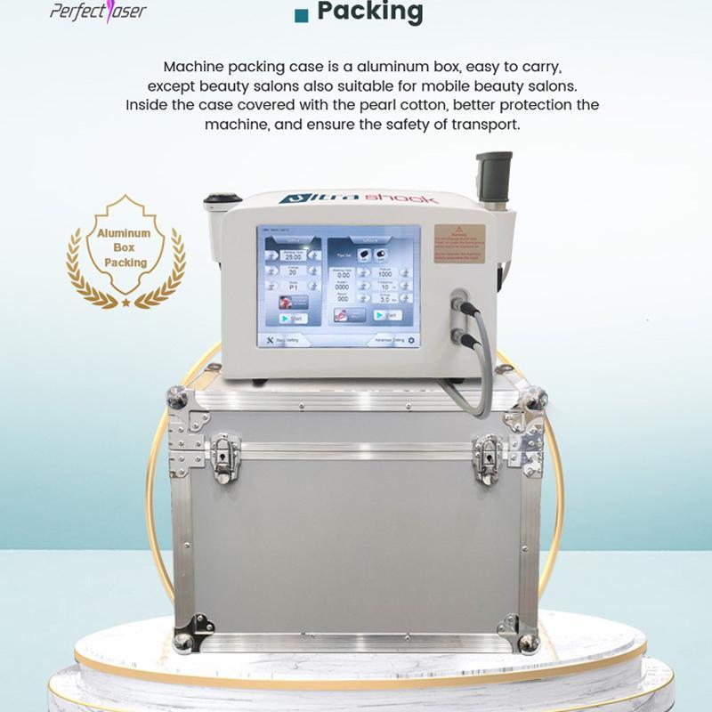 الضغط الجوي Eswt بالمستخدمين العلاج المحمولة ED الألم آلة المشترك وجهاز لتخفيف الآلام من الألمانية المستوردة ضاغط