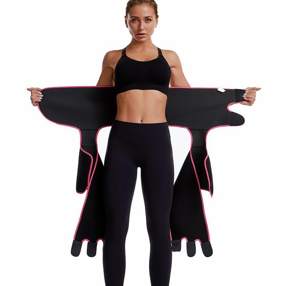 Le donne in neoprene che dimagrisce cinghia Sudore Manubrio Shaper vita alta Trainer Cinghia grassa coscia regolatore del corpo dello Shaper all'ingrosso