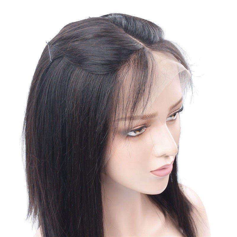150 الكثافة البرازيلي قصيرة على غرار T بوب الباروكات غلويليس الجبهة الرباط مع الإنسان طفل الشعر مستقيم بوبو ريمي الشعر الباروكات