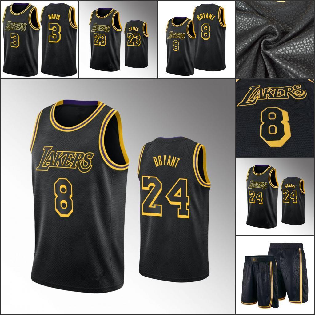 2020 Los Angeles Lakers Kobe Bryant LeBron James Anthony ...