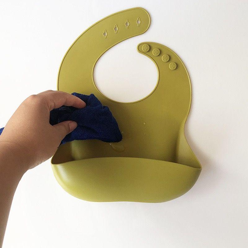 حرة dhl ups مصمم الطفل تغذية burb الملابس المرايل ins ماء سيليكون 17 ألوان منشفة اللعاب