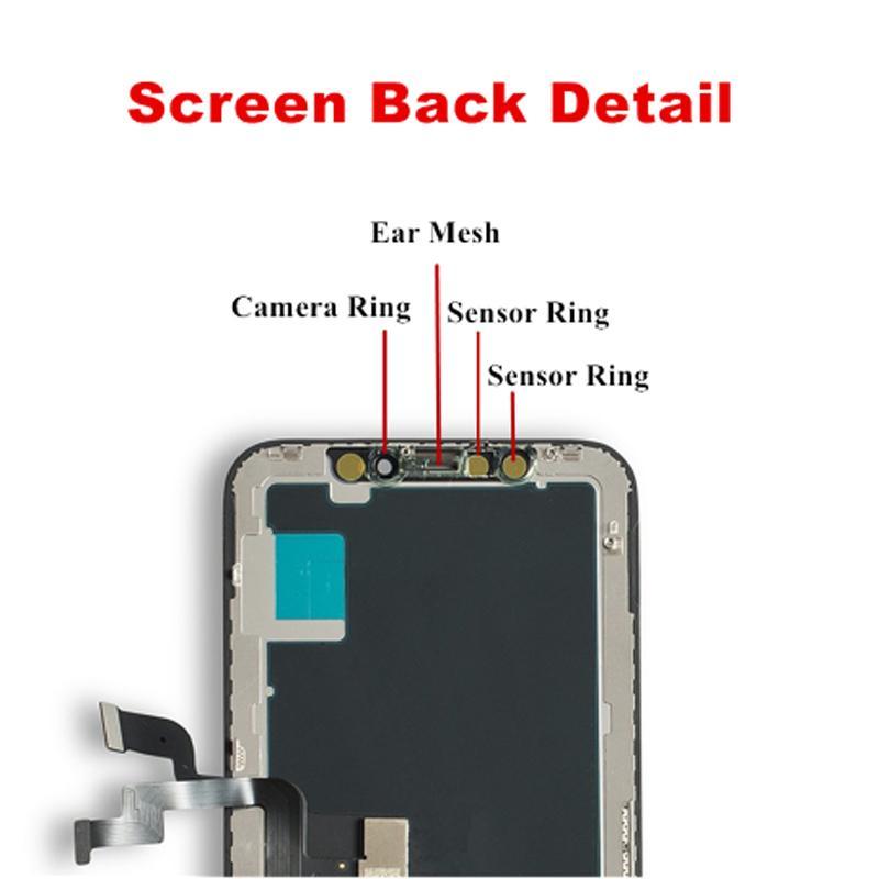 Panneaux pour iPhone X XS MAX XR 11 écran LCD Écran tactile OLED TFT TIX Remplacement du remplacement