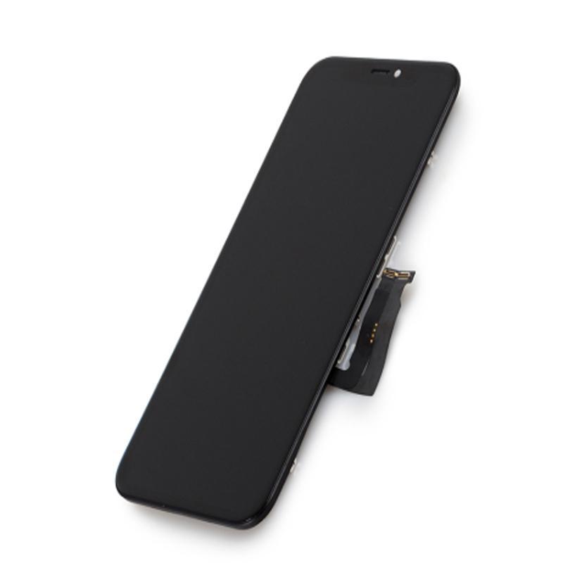لوحات iPhone X XS MAX XR 11 LCD عرض OLED TFT شاشة تعمل باللمس محول الأرقام الجمعية استبدال الجمعية