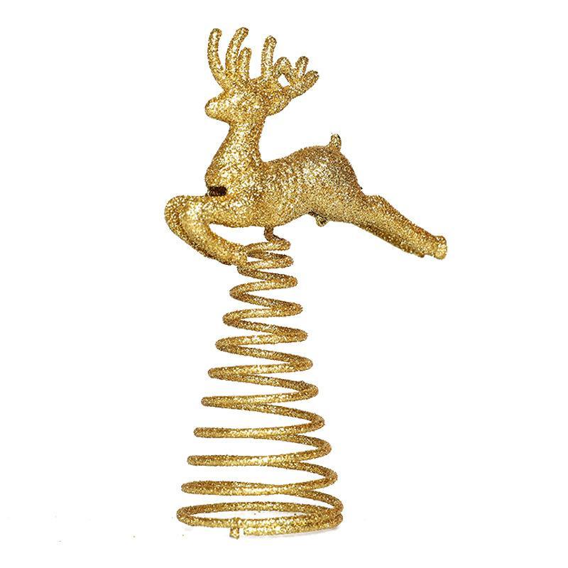top star arbre de Noël coeur décoration de Noël Elk pentacle 2020 nouveau fer forgé robe décoration pentacle étoile jusqu'à 6 style T3I51422