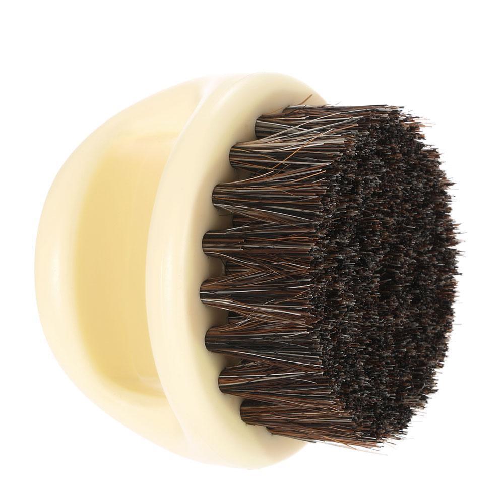 men`s mustache beard brush barber salon hair sweep brush shaving facial hair neck face duster brush for hairdressing