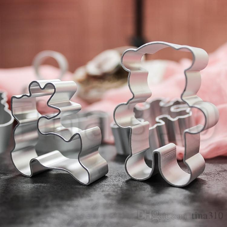 41 스타일 비스킷 DIY 금형 스타 심장 커터 베이킹 금형 알루미늄 합금 쿠키 커터 플런저 스텐실 과자 T500427