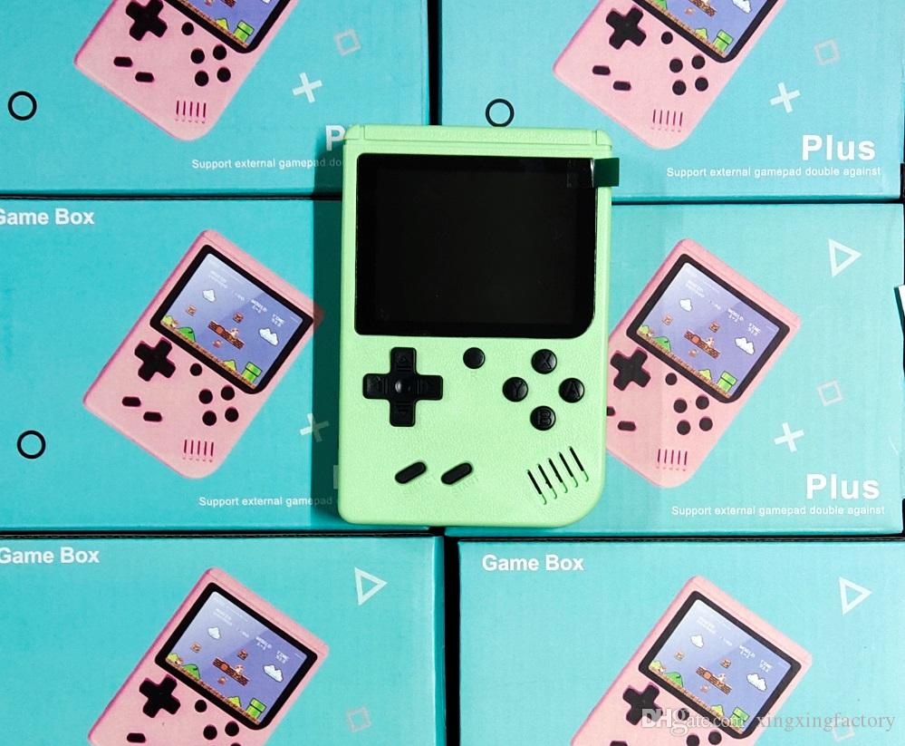 800 in 1 Portable Handheld video Game Console Retro 8 bit Mini Game Players Games 3 inch AV GAMES with Color LCD factory wholesale