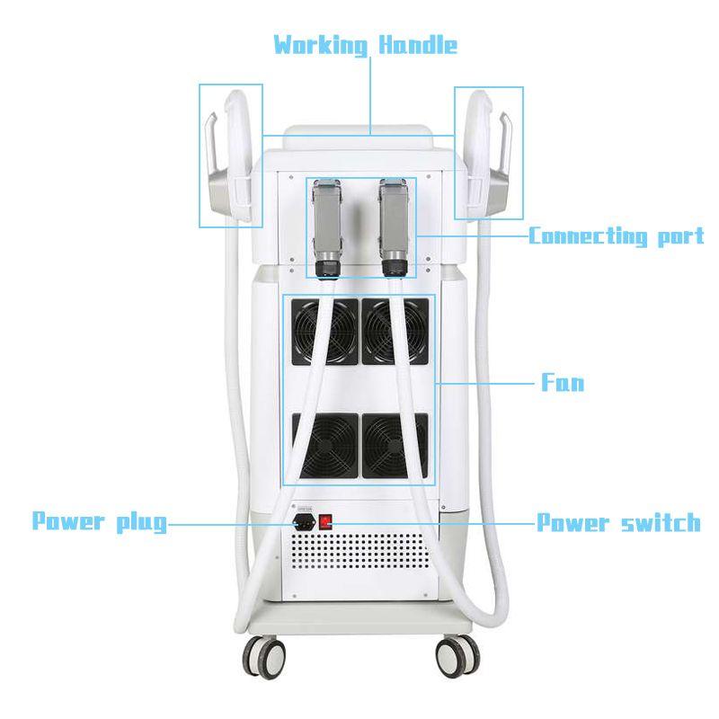 Hiemt máquina máquina escultura emagrecimento emslim muscle construir remoção de gordura músculos eletromagnéticos estímulo slim equipamentos de beleza