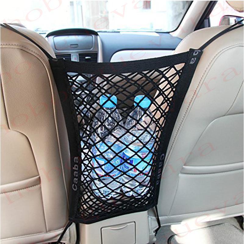 لمقعد BMW X6 X6M السيارات السيارات الخلفية جذع شحن منظم التخزين عادي عمودي صافي الأمتعة منظم الغلاف اينر نايلون