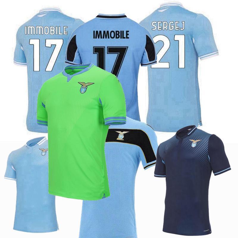 2021 120 Years Anniversary 2020 2021 Lazio Soccer Jerseys ...