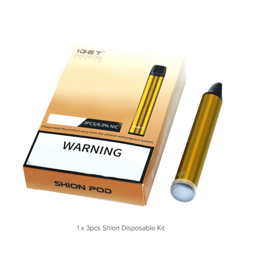 OIGET SHION SHION DISPOSITIVO DESECHABLE POD KIT 600 Puff 400mAh 2.4ml Preculada Vape Stick Pen Haka Switch Bar plus xxl max 100% autentico