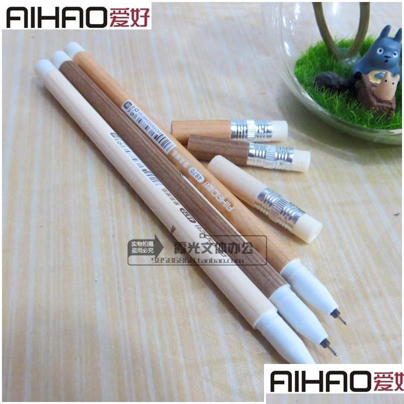 4870 0.5mm erasable gel pens black /blue ink office &school supplies 12pcs /lot fshion hot