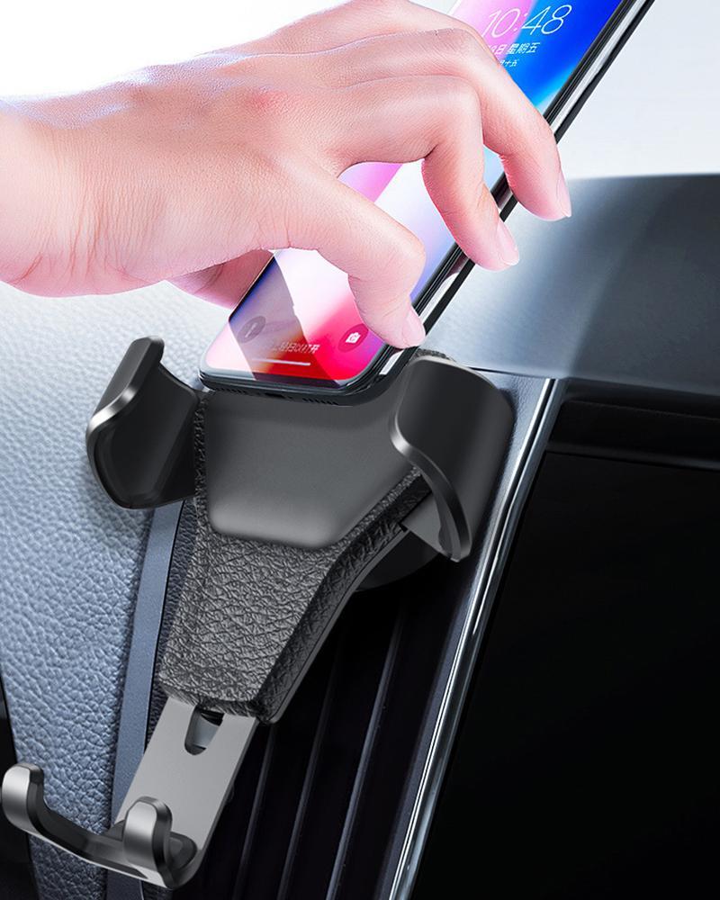 유니버설 자동차 전화 홀더 핸드폰에 대 한 공기 환기 마운트 스탠드 소매 패키지가있는 MagnetIumholders