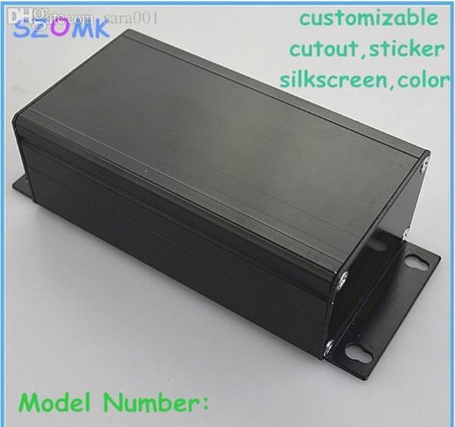 wholesale-1 piece shipping 45x65x120 mm aluminum extrusion electronics box , diy project junction enclosures
