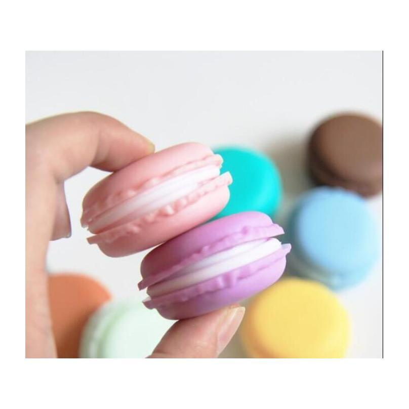 candy color macaroon jewelry box case package for earrings ring necklace pendant mini cosmetic jewelry packaging wholesale ship