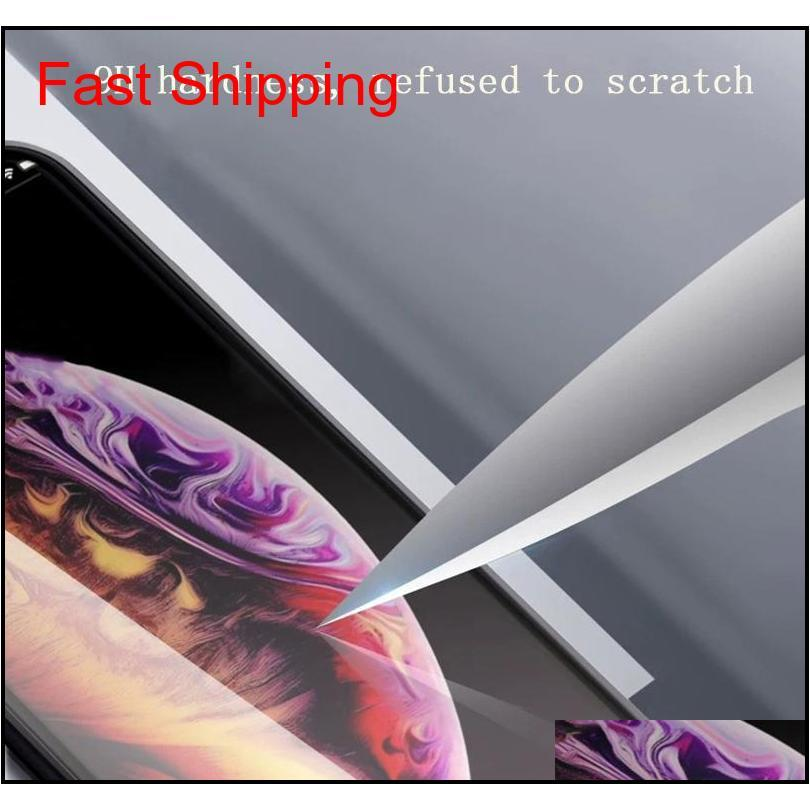 For Iphone Xs Max Phone Case Second Generation Double-Sided Glass Magnetic Metal Frame Phone Case Support 2Pcs Delivery / Wholesale F7 Exnod