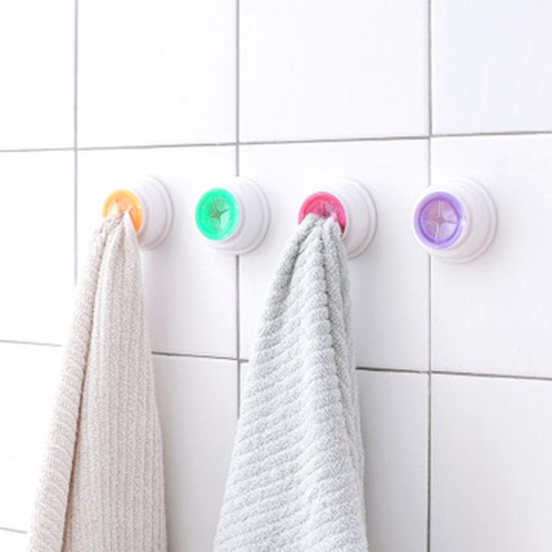 Storage Rack Bathroom Towels Hanging Holder Organizer Kitchen Scouring Pad Hand Towel Racks Wash Cloth Clip Dishclout T3I51679